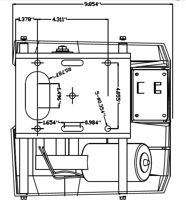 12V Standard Anchor Winch Windlass For Freshwater 25Lb