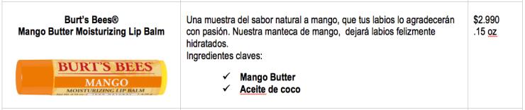 Mango Butter Moisturizing Lip Balm