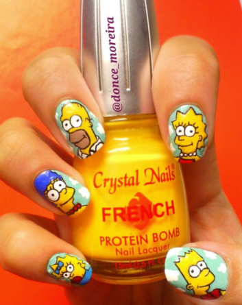 UñasSimpsons