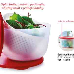 Tupperware šalátový karusel - Tupperware showroom Nitra