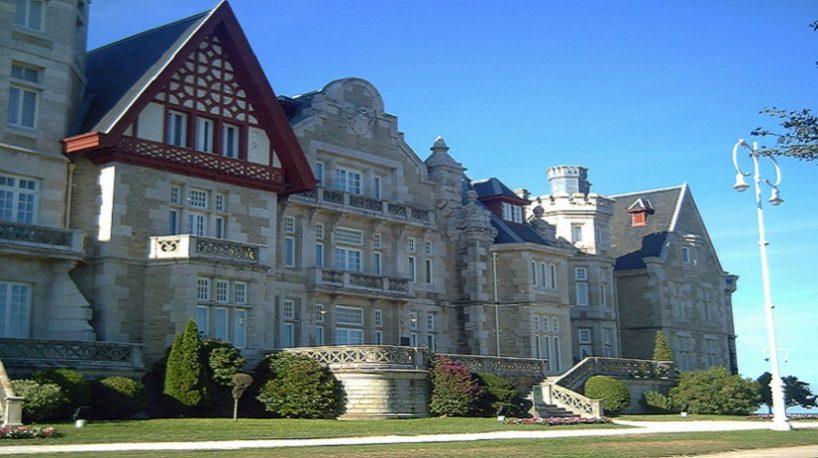 Imagen del Palacio de la Magdalena en Santander