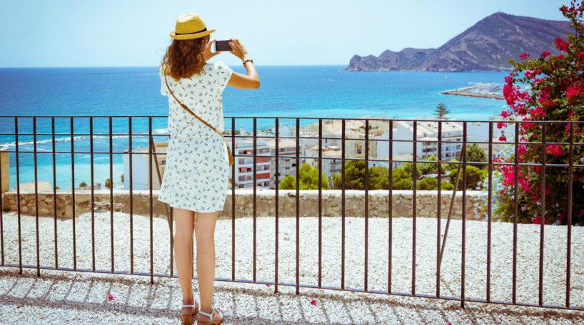 Turista internacional en España