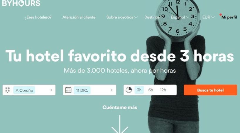 La start-up española By Hours