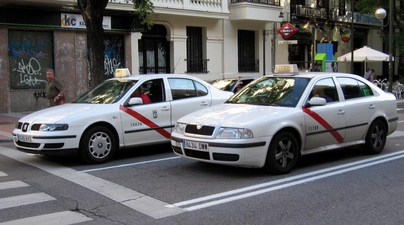 La huelga de taxis en Fitur