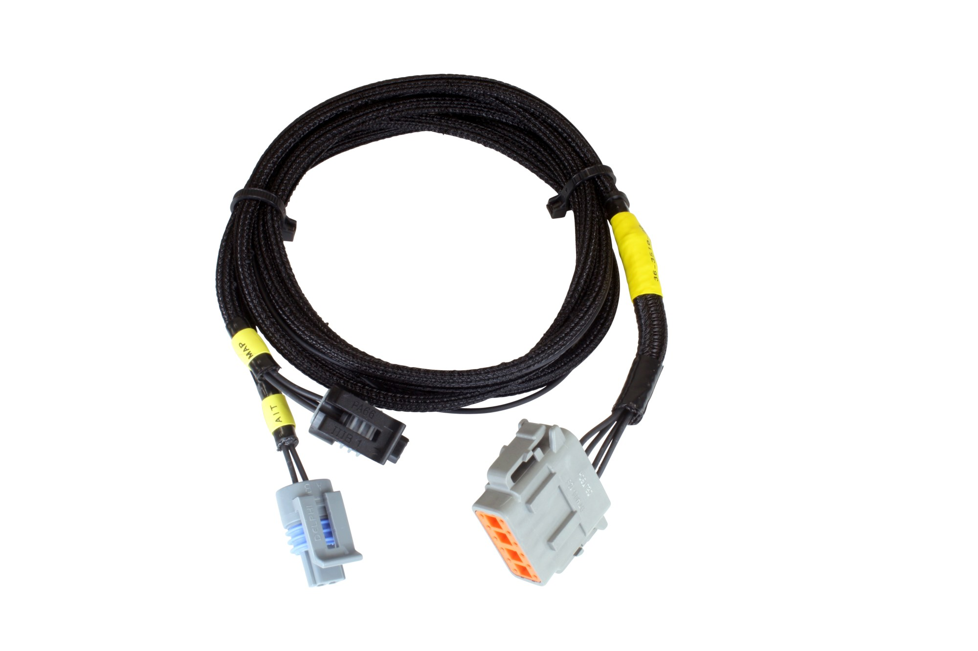 hight resolution of infinity aux harness for aem iat and map sensor 72 length turbototal