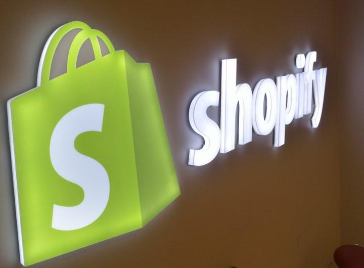 un site shopify