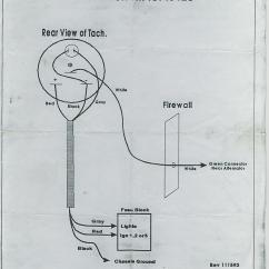 Marine Tach Wiring Diagram 1990 Crx Radio Vdo Data Tachometer Schematic Kenworth Cecu