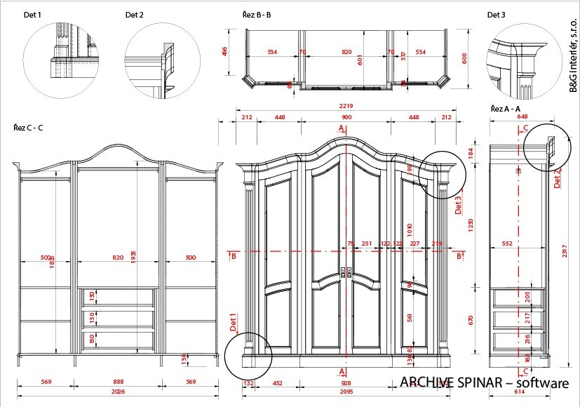 Woodworking Drawing Program