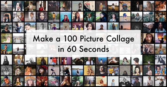 make a 100 photo