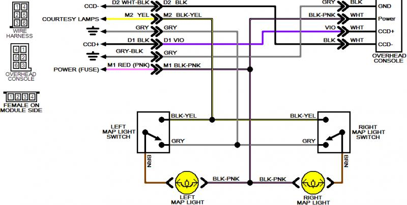 dodge ram wiring diagram 2016 taco sentry zone valve over head console diagrams needed - turbo forums : forum for mopars ...