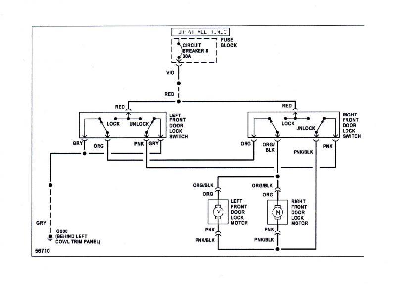 Door Lock Wiring Diagram : 24 Wiring Diagram Images