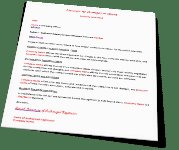 GSA Contract Renewal Training