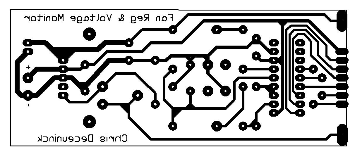 LM2941 Manual Fan Regulator & LM3914 Voltage Monitor