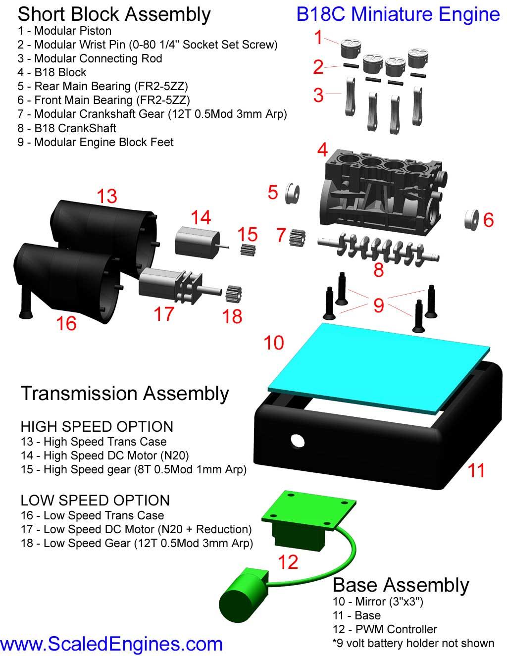 Rebuild Kits / Parts