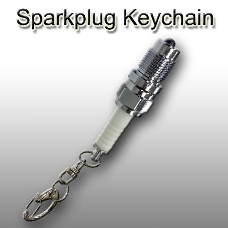 Sparkplug Keychain