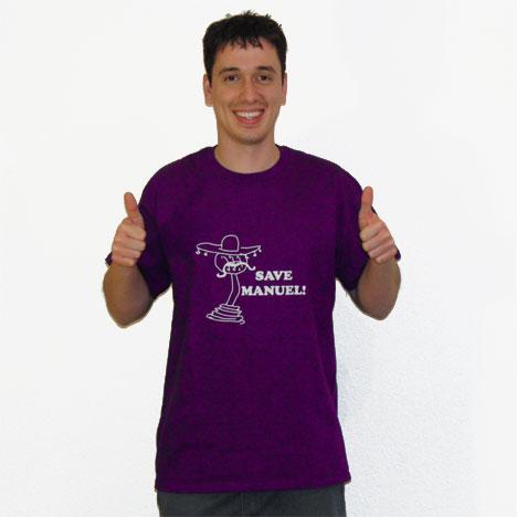 Save Manuel! T-Shirt