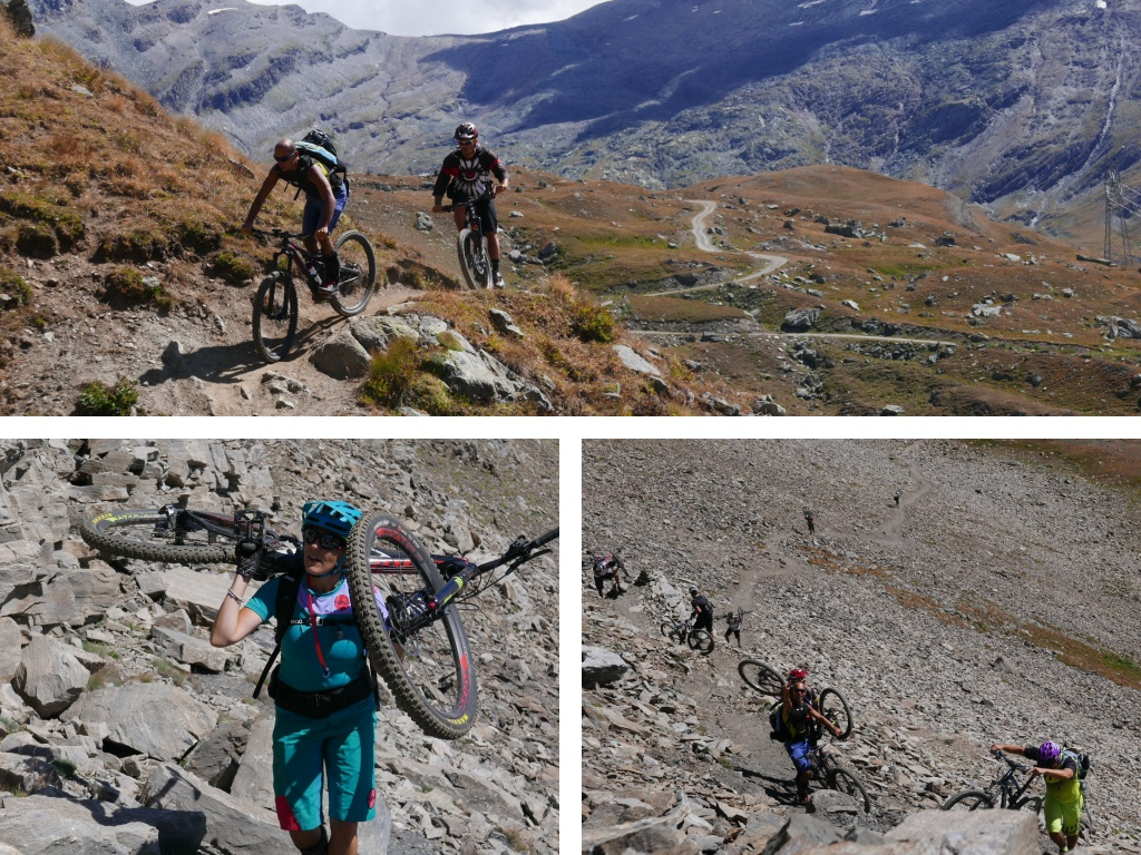 invergneux cogne mountainbike tour