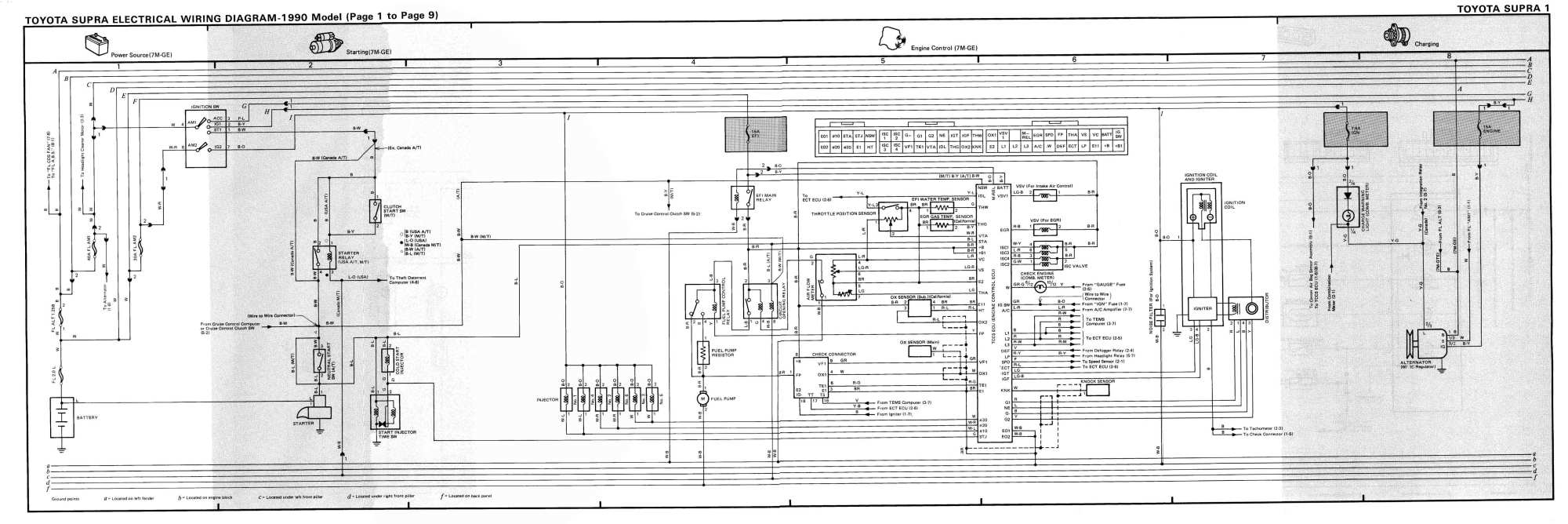 hight resolution of 1987 toyota supra wiring diagram wiring diagram sample 87 toyota supra wiring harness diagram