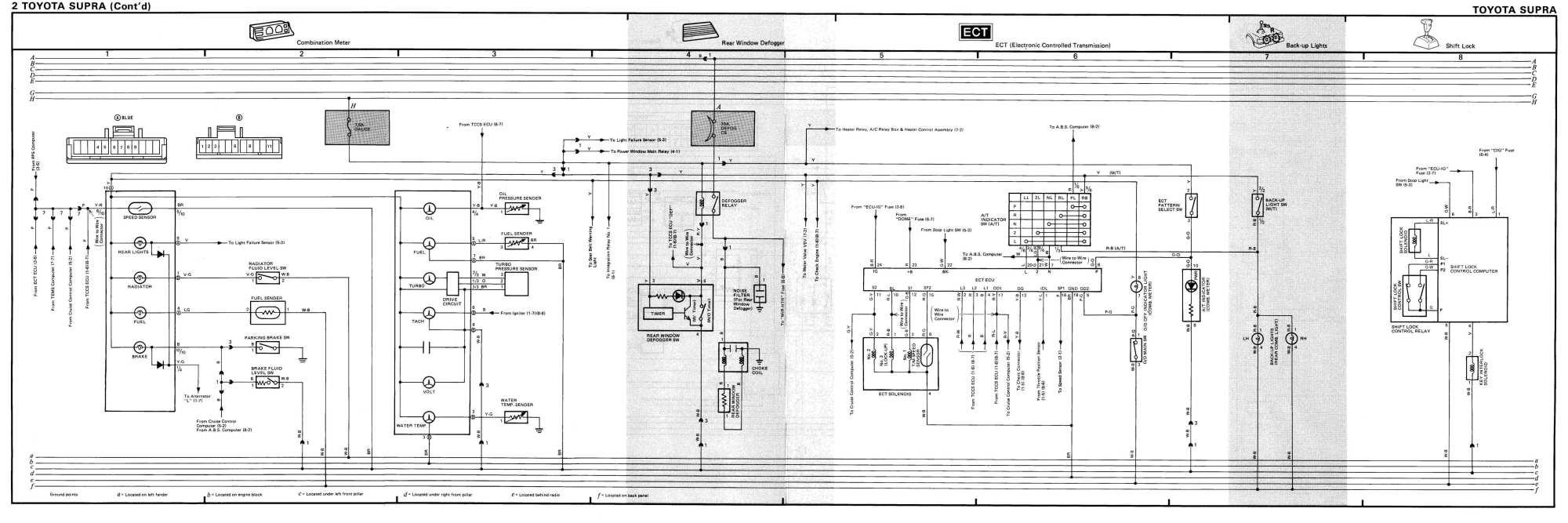 hight resolution of mk3 supra tsrm toyota supra repair manual links downloads87 supra wiring diagram 3