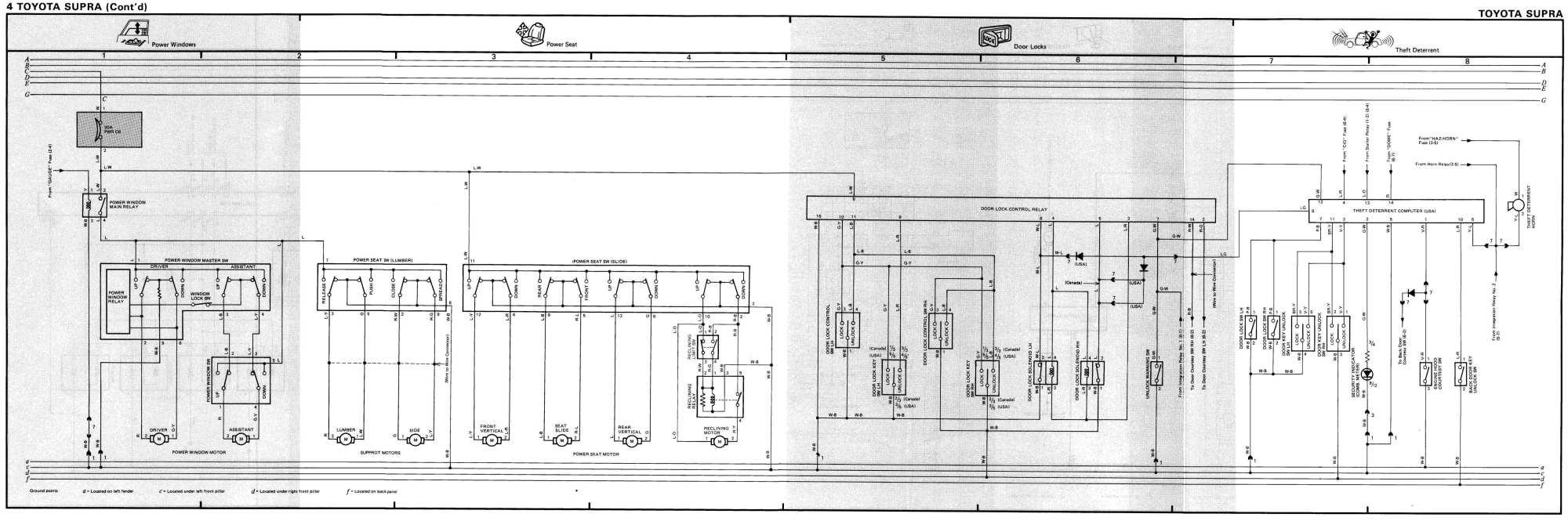 hight resolution of mk3 supra tsrm toyota supra repair manual links downloads87 supra wiring diagram 21