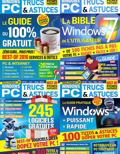 Windows PC Trucs et Astuces - Full Year 2016 Issues Collection