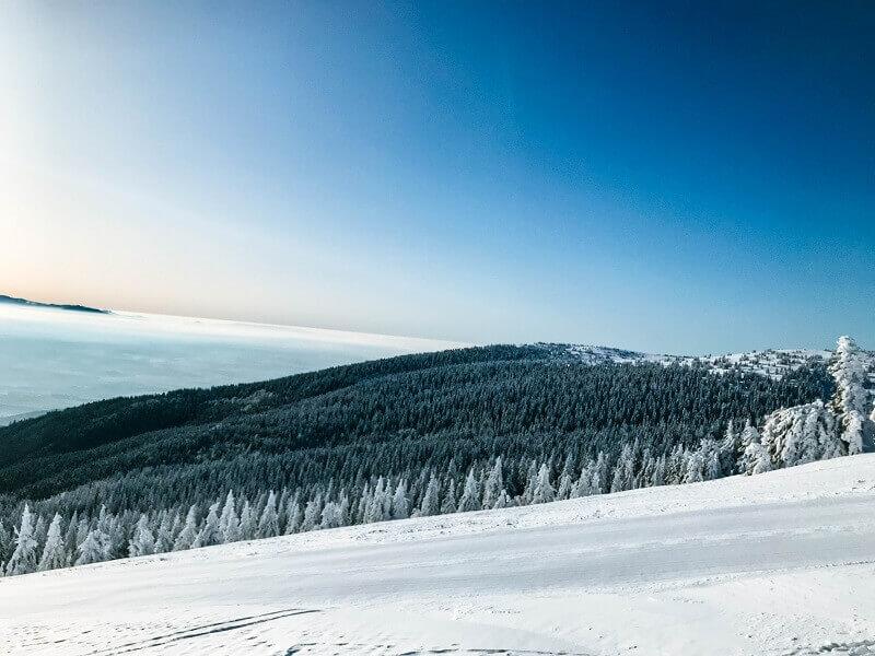 Martinské hole - lyžovačka - Turčianska záhradka