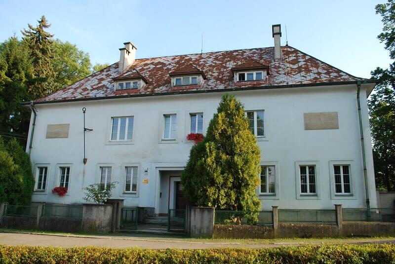 Turčianska záhradka - Bystrička a dom T.G.Masaryka