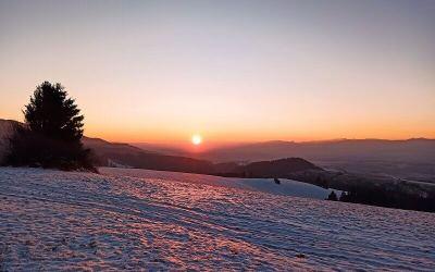 Krásna prechádzka na Mažiarky a Bukoviny