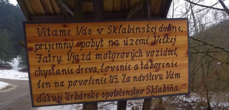 Turiec - Sklabinská dolina