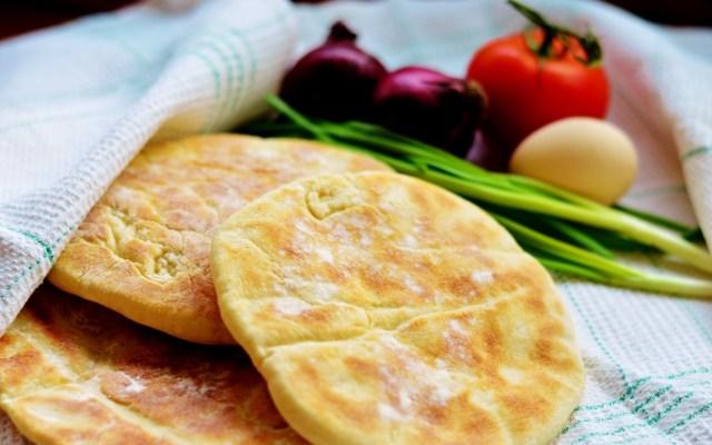BAZLAMA, czyli turecki chlebek pita