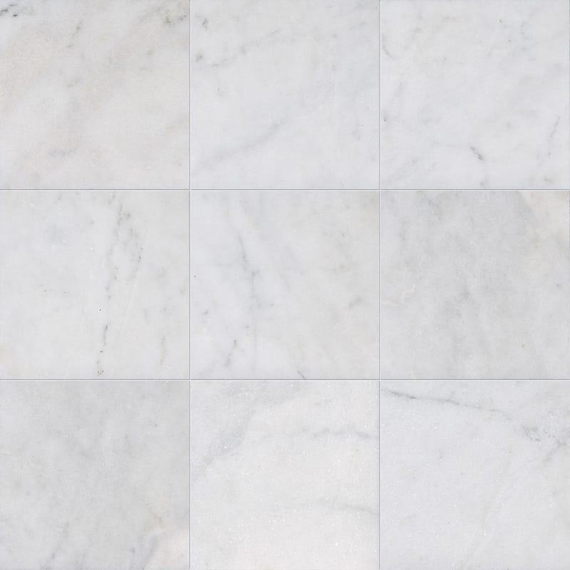glacier honed marble tiles 15 2x30 5