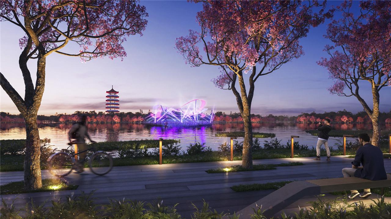 新加坡裕廊湖公園