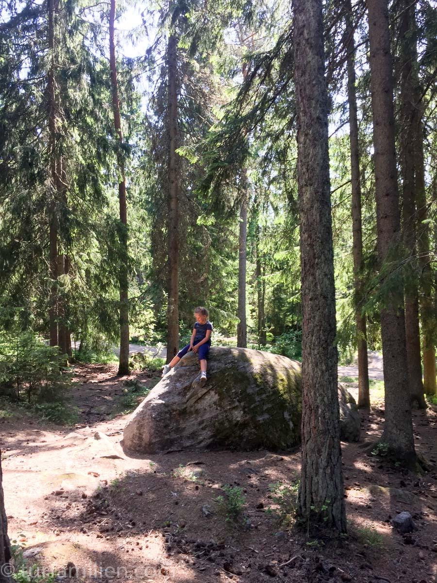 østmarka er en stor lekeplass for barna