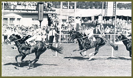 Uomo und Albert Klimscha gewinnen das Derby 1959