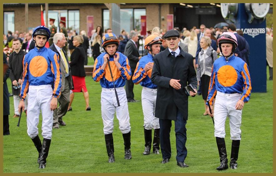Coolmore Jockeys