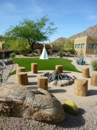 Contractor Lassos Award with Western-Themed Landscape