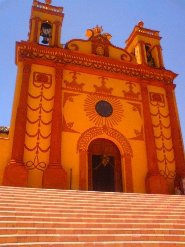 Templo de San Caralampio, Chiapas