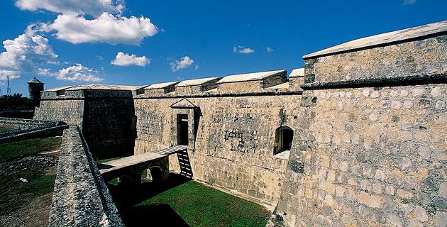 los alrededores de la muralla en campeche