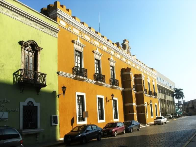 palacio municipal, campeche