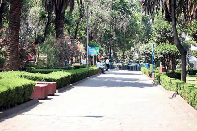 Jardín del Arte Tlacoquemécatl, Ciudad de México