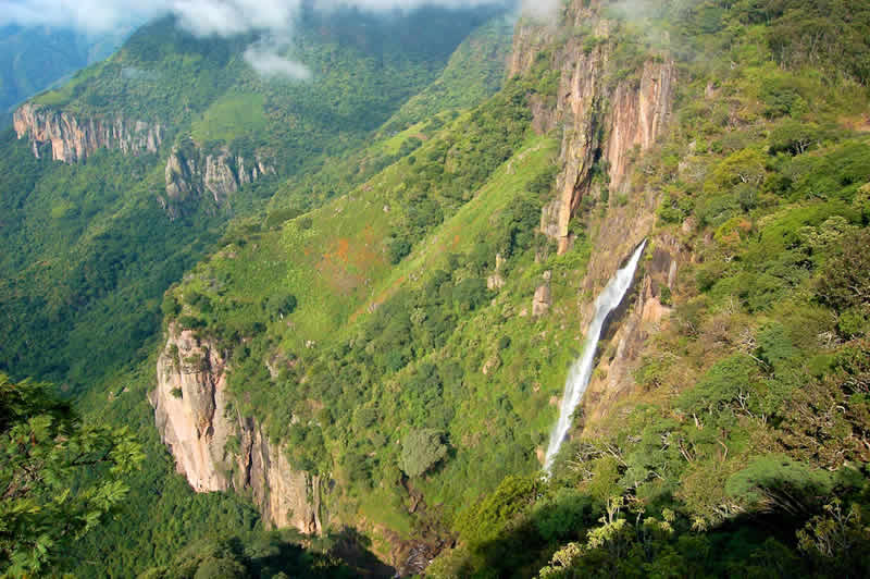 Cascada Nanchititla, Estado de México