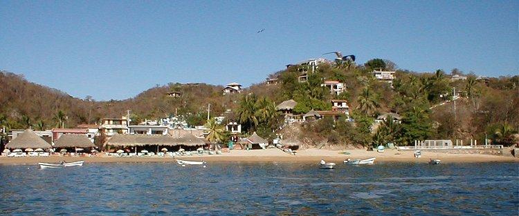 Playa del Panteón, Oaxaca