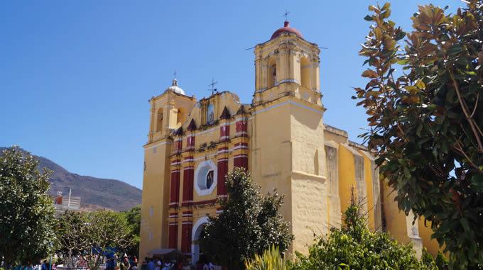 Templo de San Andrés, Oaxaca