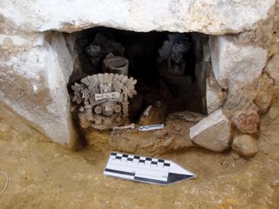 Sistemas Funerarios en Atzompa