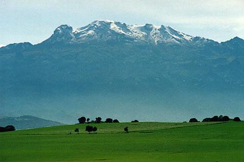 Iztaccíhuatl - Popocatépetl y Zoquiapan