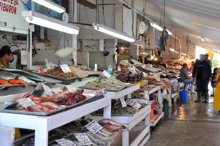 Mercado en Ensenada