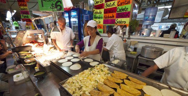 Mercado en Guadalajara