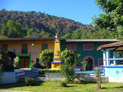 Real de Arriba, Antiguo Pueblo Minero