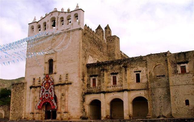 Convento de los Santos Reyes, Meztitlán