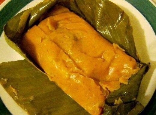 Receta Tamales de Papa